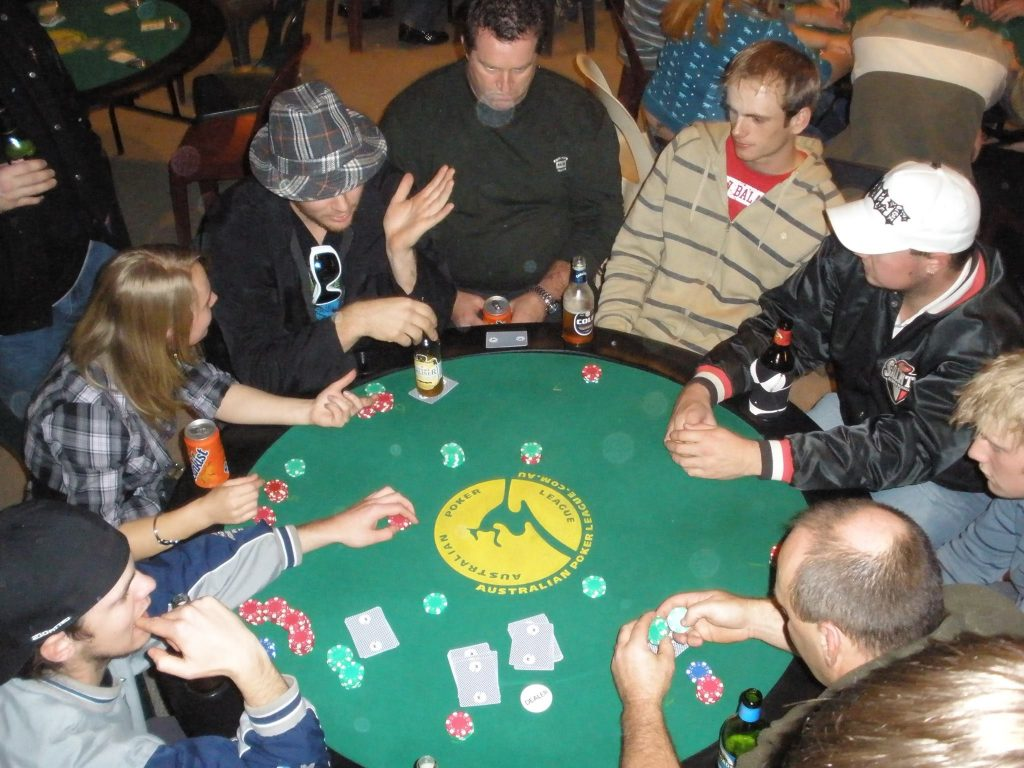 Poker Night at Watsonia Baseball Club